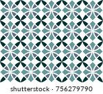 seamless geometrical patterns.... | Shutterstock .eps vector #756279790