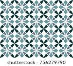 seamless geometrical patterns.... | Shutterstock .eps vector #756279790