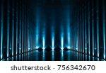 elegant futuristic blue light