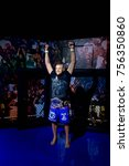 Small photo of LAS VEGAS, USA - SEP 19, 2017: Chuck Liddell, an American retired mixed martial artist and former UFC Light Heavyweight Champion, Madame Tussauds wax museum in Las Vegas Nevada.