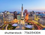 indianapolis  indiana  usa... | Shutterstock . vector #756354304