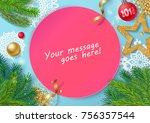 colorful and realistic... | Shutterstock .eps vector #756357544