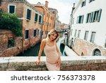 girl on the walk | Shutterstock . vector #756373378