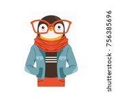 Cute Fashion Penguin Guy...