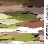 camouflage background with... | Shutterstock . vector #756390073