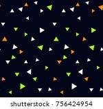 vector seamless pattern. modern ... | Shutterstock .eps vector #756424954
