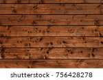 facing a wooden house as a... | Shutterstock . vector #756428278