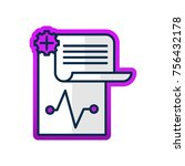 medical history vector icon | Shutterstock .eps vector #756432178