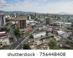 guatemala city   january 04 ... | Shutterstock . vector #756448408