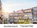 view on the beautiful old...   Shutterstock . vector #756469780