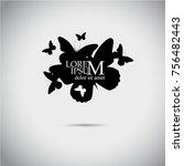 Logo Of Many Butterflies