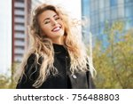 outdoors lifestyle fashion... | Shutterstock . vector #756488803