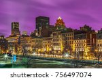 the old port section of... | Shutterstock . vector #756497074