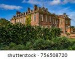 hanbury hall stately home | Shutterstock . vector #756508720