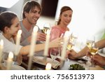 party cooking | Shutterstock . vector #756513973