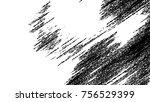 black and white grunge pattern... | Shutterstock . vector #756529399