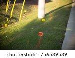 Utility Telephone Line Flag