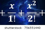 math equations and formulas in... | Shutterstock . vector #756551440