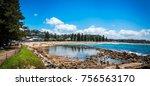 avoca beach  central coast ... | Shutterstock . vector #756563170
