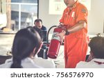 basicfire fighting and... | Shutterstock . vector #756576970