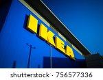 bletchley uk   november 14th ... | Shutterstock . vector #756577336