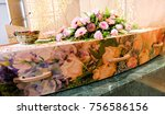 closeup shot of a colorful... | Shutterstock . vector #756586156