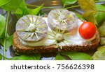 sandwich with homemade sausage  ... | Shutterstock . vector #756626398