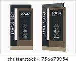 pylon sign  advertising  street ... | Shutterstock .eps vector #756673954