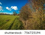 english countryside in autumn | Shutterstock . vector #756725194