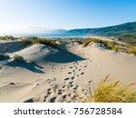 praia do guincho  cascais ... | Shutterstock . vector #756728584