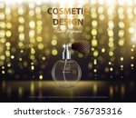 Cosmetic Background With Round...