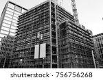 general viev of the frankfurt...   Shutterstock . vector #756756268