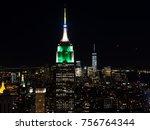 new york america   june 14 2016 ... | Shutterstock . vector #756764344
