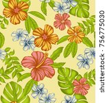 fabric design for fabric... | Shutterstock . vector #756775030