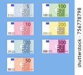 money euro banknotes  simple...