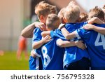 kids play sports. children... | Shutterstock . vector #756795328