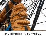 riga  latvia   july 26  regatta ... | Shutterstock . vector #756795520