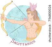 zodiac. vector illustration of...   Shutterstock .eps vector #756800026