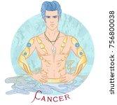zodiac. vector illustration of... | Shutterstock .eps vector #756800038