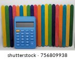 concept of education or back to ... | Shutterstock . vector #756809938