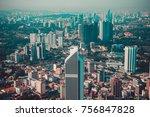 modern architecture  business... | Shutterstock . vector #756847828