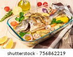 A Delicious Whole Baked Fish....