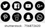 berlin  november 14  2017   set ...   Shutterstock . vector #756872620
