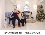 example of nice friendly and...   Shutterstock . vector #756889726