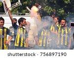 istanbul  turkey   july  2 ... | Shutterstock . vector #756897190