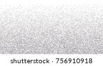 sparkling abstract silver... | Shutterstock .eps vector #756910918
