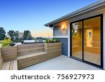chic master deck with custom...   Shutterstock . vector #756927973