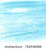 blue color paper texture grunge ... | Shutterstock .eps vector #756938488