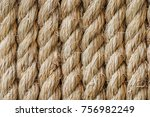 Rough Rope Background With Copy ...