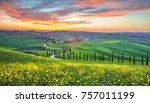 tuscany italy april15 2016... | Shutterstock . vector #757011199